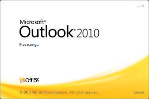 Correo en Outlook 2010